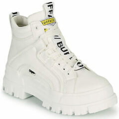 Witte Buffalo High sneakers Aspha Nc Mid White