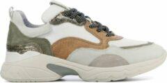 Witte VIA VAI Vrouwen Leren Sneakers - 5408055-01 - 42