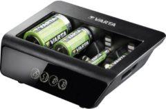 Varta LCD Universal-Plus Batterijlader NiMH AAA (potlood), AA (penlite), C (baby), D (mono), 9 V (blok)