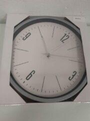 Segnale Klok met grijze rand- 1 stuk