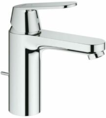 Grohe Eurosmart Cosmopolitan wastafelkraan met medium uitloop met waste chroom 2339600e