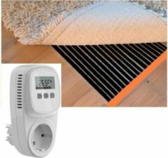 Durensa Karpet verwarming / parket verwarming / infrarood folie vloerverwarming 100 cm x 550 cm 880 Watt inclusief thermostaat
