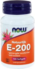Now Foods Now Vitamine E-200 Natuurlijke Gemengde Tocoferolen Trio (3x 100sft)