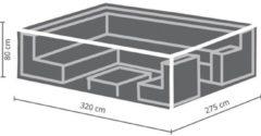 Antraciet-grijze MAXX - Buitenhoes voor lounge set - rechthoekig - 320 cm