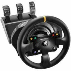 Thrustmaster TX Racing Wheel Leather Edition Stuur PC, Xbox One Zwart Incl. pedaal