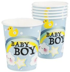 Boland Geboorte Bekers Baby Boy Karton 250ml 6 stuks