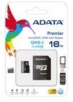 ADATA Technology Co ADATA Premier UHS-I - Flash-Speicherkarte (microSDHC/SD-Adapter inbegriffen) AUSDH16GUICL10-RA1