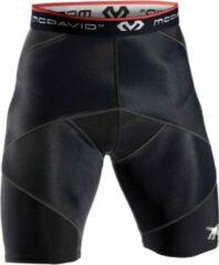 McDavid Cross Compressie Short Hardloopbroek - Maat M - Unisex - zwart