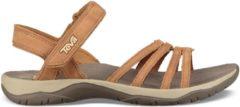 Teva - Women's Elzada Sandal Lea - Sandalen maat 7, bruin
