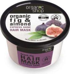 Organic Shop - Organic Fig & Almond Hair Mask nabłyszczajaca maska do włosów 250ml