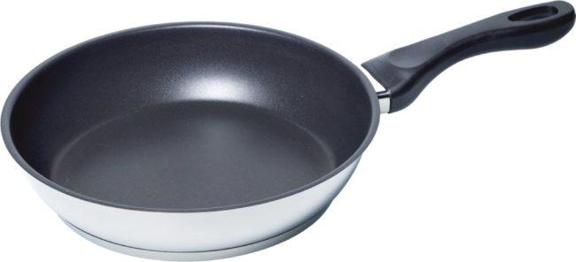 Afbeelding van Zwarte Siemens Bosch HZ390230 Koekenpan voor sensor kookplaat