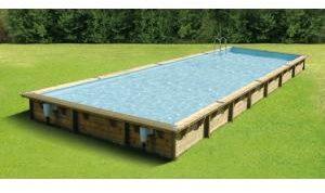 Afbeelding van Ubbink Zwembad Linea 500x1100 - Blauw