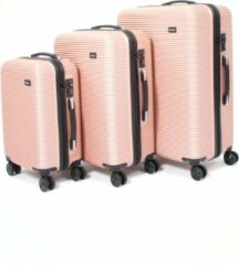 Roze AttitudeZ Air-Z Reiskoffer Set Rose