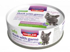 Smolke Soft Paté 80 g - Kattenvoer - Wild Hypoallergeen