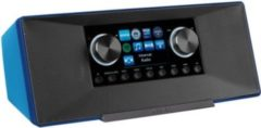 MEDION® LIFE® P85135 WLAN Internet-Radio, DLNA-/UPnP, DAB+ & FM/UKW, LAN, USB, AUX, 2x6 W RMS, blau
