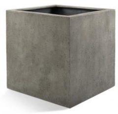 Luca Lifestyle Grigio plantenbak Cube S betonlook