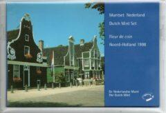 De Nederlandse Munt Nederland Jaarset Munten 1998 FDC - Noord-Holland