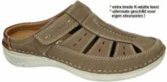 Josef Seibel -Heren - taupe - pantoffels & slippers - maat 40
