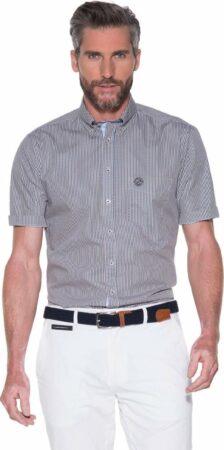 Afbeelding van Beige Campbell Classic Casual Heren Overhemd KM