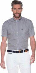 Beige Campbell Classic Casual overhemd korte mouw