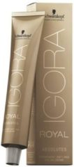 Schwarzkopf Professional Igora Royal Absolutes Age Blend Permanent Anti-age Color Creme Haarverf 8-07 60ml