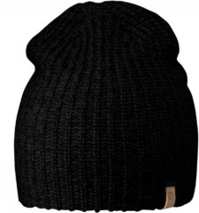 Zwarte Fjällräven Fjallraven Ovik Melange Beanie Muts - Unisex - Black