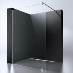 Douche Concurrent Inloopdouche Erico 120x200cm Antikalk Helder Glas Chroom Profiel 8mm Veiligheidsglas Easy Clean