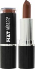 Creme witte Miss Cop Matte Lipstick 10 Crème de marron