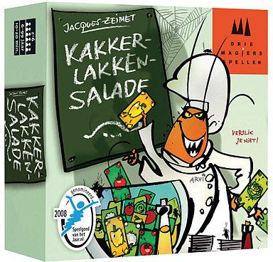 Afbeelding van Drie Magiers Spellen kaartspel Kakkerlakken salade