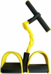 Able & Borret | Weerstandsbanden fitness | Weerstandsbanden met handvatten | Geel
