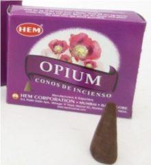Hem Wierook Wierook kegeltjes Opium