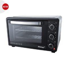 Zwarte Steba KBA25 - Vrijstaande oven - Grillfunctie
