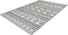 Antraciet-grijze Arte Espina Yoga Vloerkleed 200 x 290 cm Antraciet