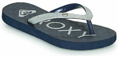Roxy - Kid's Viva Glitter Sandals - Sandalen maat 4, zwart