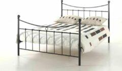 Rousseau - Bed Sacha - 140x200 - Zwart - Metaal