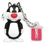 EMTEC International EMTEC Looney Tunes Sylvester - USB-Flash-Laufwerk ECMMD8GL101