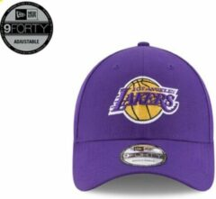 Paarse New Era NBA Los Angeles Lakers Cap - 9FORTY - One size - Lakers Purple/Gold