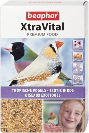 Afbeelding van Beaphar Xtravital Tropische Vogel - Vogelvoer - 500 g