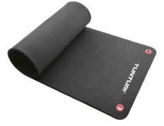 Bremshey Tunturi Pro - Fitnessmat - 140 cm x 60 cm x 1,5 cm - Zwart