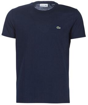 Afbeelding van Blauwe T-shirt Korte Mouw Lacoste TH6709