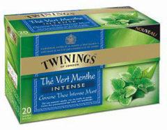 Twinings groen intense mint 20 Stuks