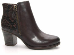 Bruine Boots en enkellaarsjes Troxli by Tamaris