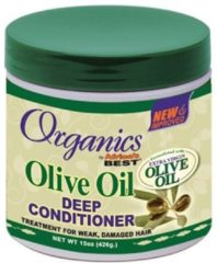 Africas Best Organics Olive Oil Deep Conditioner 426 gr