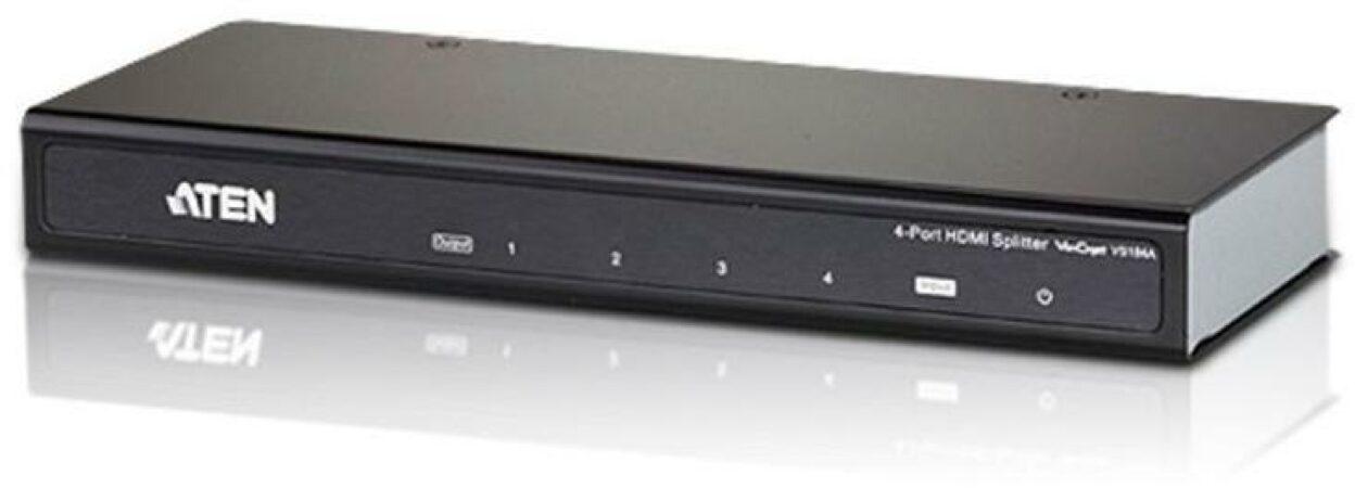 Afbeelding van 4-Poorts HDMI splitter met 3D en 4K - ATEN - Aten