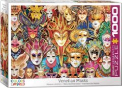 Eurographics puzzel Venetian Masks - 1000 stukjes
