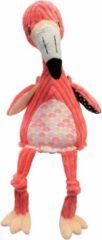 Les Deglingos knuffel flamingo roze 35 cm