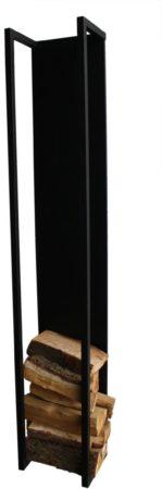 Afbeelding van Zwarte Spinder Design Cubic Fire - Houtopslag - Zwart - 167 cm