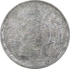 Beliani KITNOS - Decoratieve schaal - Zilver - Metaal