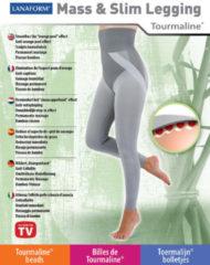 Beige Lanaform Mass & Slim Legging - Intelligente afslankende Legging - Grijs - S