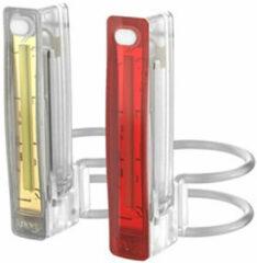 Transparante Knog Plus Twinpack Verlichtingsset, translucent